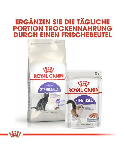 ROYAL CANIN STERILISED Trockenfutter für kastrierte Katzen 10 kg