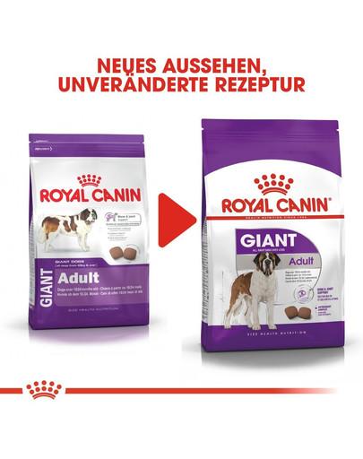 ROYAL CANIN GIANT Adult Trockenfutter für sehr große Hunde 4 kg