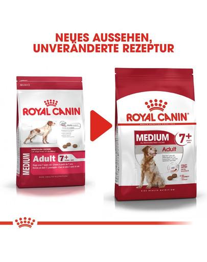 ROYAL CANIN MEDIUM Adult 7+ Trockenfutter für ältere mittelgroße Hunde 4 kg