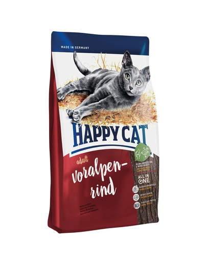 HAPPY CAT Adult Voralpen-Rind 4 kg