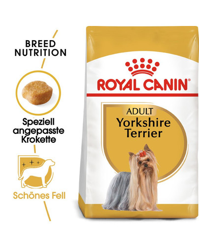 ROYAL CANIN Yorkshire Terrier Adult Hundefutter trocken 500 g 4737