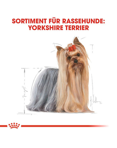 ROYAL CANIN Yorkshire Terrier Adult Hundefutter trocken 7,5 kg