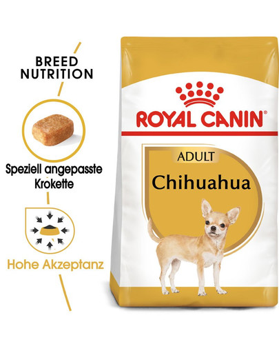 ROYAL CANIN Chihuahua Adult Hundefutter trocken 500 g