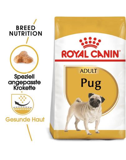 ROYAL CANIN Pug Adult Hundefutter trocken für Mops 1,5 kg 4679