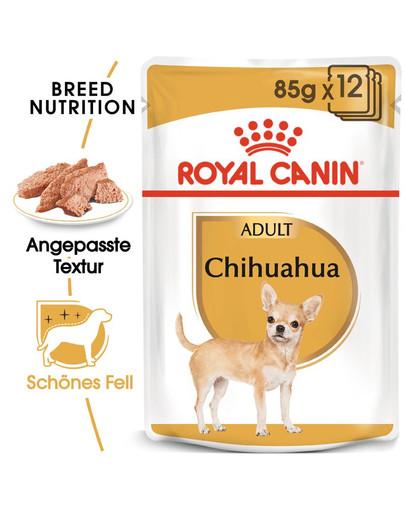 ROYAL CANIN Chihuahua Adult Hundefutter nass 85 g 34824