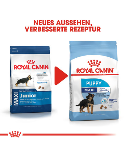 ROYAL CANIN MAXI Puppy Welpenfutter trocken für große Hunde 1 kg