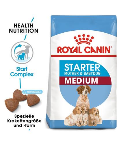ROYAL CANIN MEDIUM Starter für tragende Hündin und Welpen 4 kg
