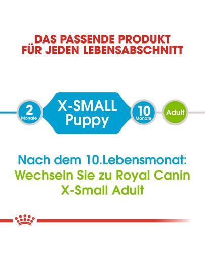 ROYAL CANIN X-SMALL Puppy Welpenfutter trocken für sehr kleine Hunde 500 g