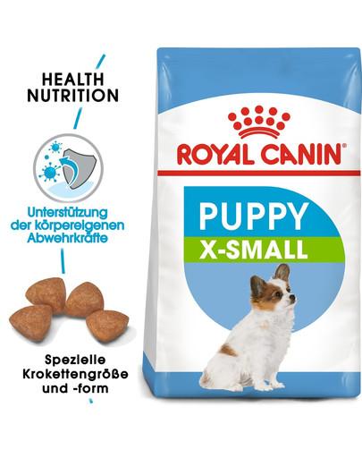 ROYAL CANIN X-SMALL Puppy Welpenfutter trocken für sehr kleine Hunde 1,5 kg