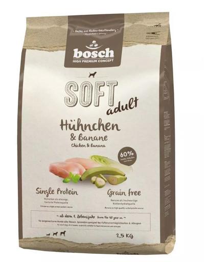 BOSCH SOFT ADULT Hühnchen & Banane 2.5 kg