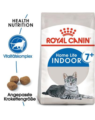 ROYAL CANIN INDOOR 7+ Trockenfutter für ältere Wohnungskatzen 400 g