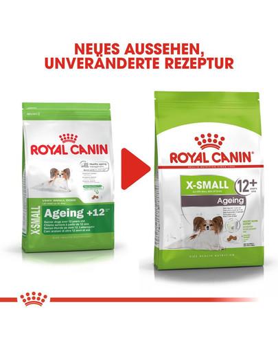ROYAL CANIN X-SMALL Ageing 12+ Trockenfutter für ältere sehr kleine Hunde 500 g