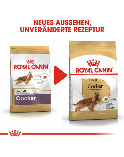 ROYAL CANIN Cocker Adult Hundefutter trocken 12 kg