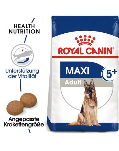 ROYAL CANIN MAXI Adult 5+ Trockenfutter für ältere große Hunde 4 kg