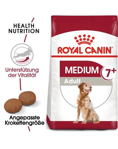 ROYAL CANIN MEDIUM Adult 7+ Trockenfutter für ältere mittelgroße Hunde 15 kg