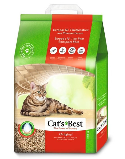 JRS Cat's Best Original Katzenstreu 10l