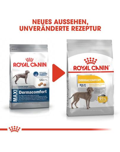 ROYAL CANIN MAXI Dermacomfort Trockenfutter für große Hunde mit empfindlicher Haut 3 kg