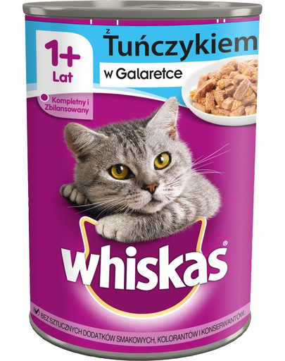 WHISKAS Adult mit Thunfisch in Gelee 24x400g