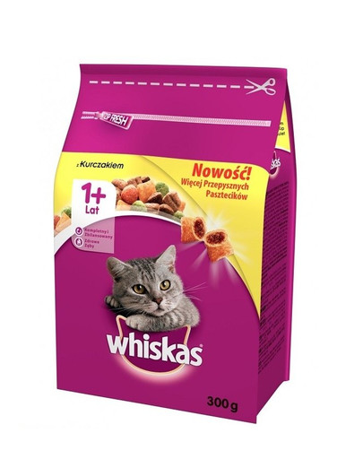 WHISKAS Adult Huhn 14 x 300g