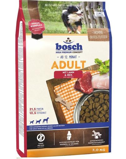 BOSCH Adult Lamm & Rice 3 kg