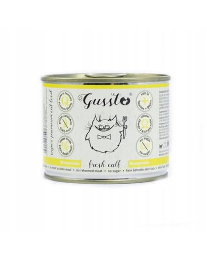 GUSSTO Cat Fresh Calf frisches Kalb 200 g 52299