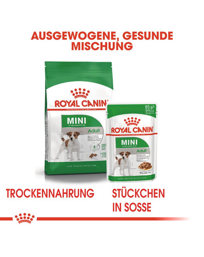 ROYAL CANIN MINI Adult Trockenfutter für kleine Hunde 800 g