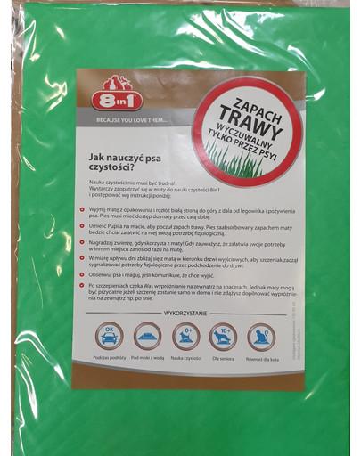 8IN1 Trainingsunterlagen mit dem Geruch von Gras 51655
