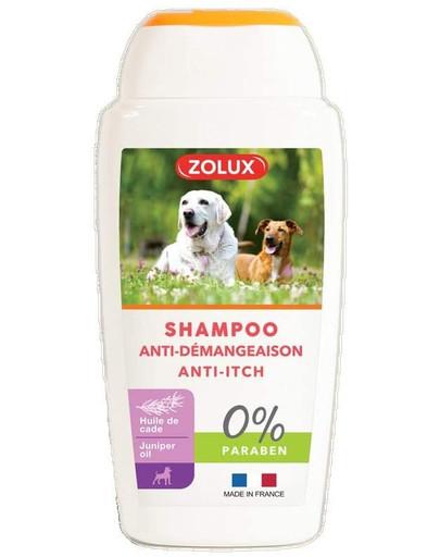 ZOLUX Anti-Itch Shampoo für Hunde, ohne Paraben 250 ml 47592