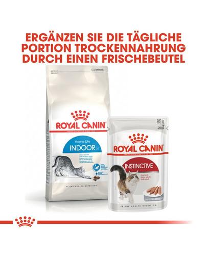 ROYAL CANIN INDOOR 27 Trockenfutter für Wohnungskatzen 4 kg