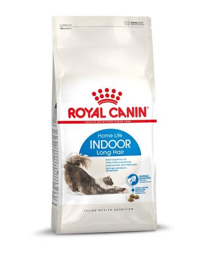 ROYAL CANIN INDOOR Longhair Trockenfutter für Wohnungskatzen mit langem Fell 2 kg