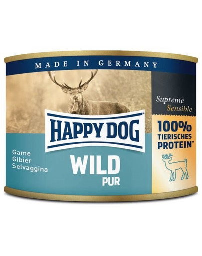 HAPPY DOG Wild Pur Nassfutter 200 g 53307