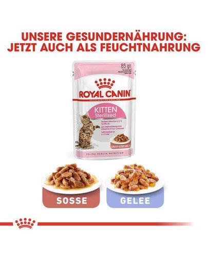 ROYAL CANIN KITTEN Sterilised Kittenfutter für kastrierte Kätzchen 2 kg