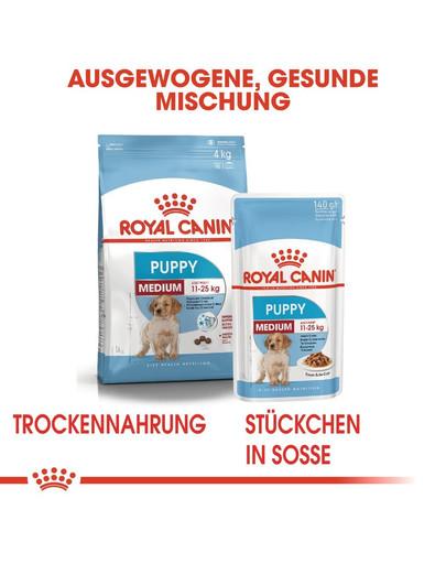 ROYAL CANIN MEDIUM Puppy Welpenfutter trocken für mittelgroße Hunde 1 kg