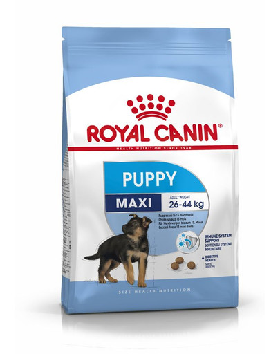 ROYAL CANIN MAXI Puppy Welpenfutter trocken für große Hunde 4 kg