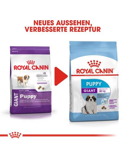 ROYAL CANIN GIANT Puppy Welpenfutter trocken für sehr große Hunde 15 kg