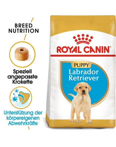 ROYAL CANIN Labrador Retriever Puppy Welpenfutter trocken 3 kg 4554
