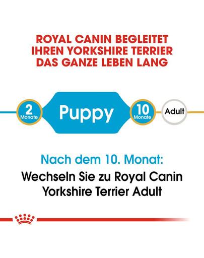 ROYAL CANIN Yorkshire Terrier Puppy Welpenfutter trocken 7.5 kg