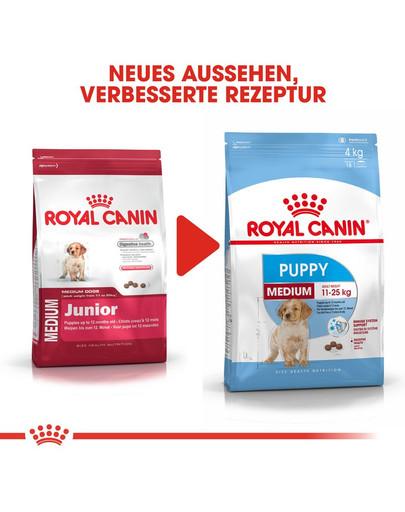 ROYAL CANIN MEDIUM Puppy Welpenfutter trocken für mittelgroße Hunde 4 kg