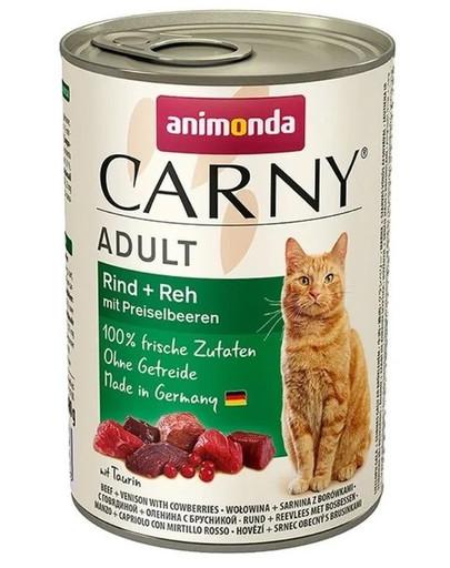 ANIMONDA Carny Adult Rind Reh mit Preiselbeeren 400 g