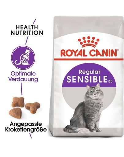 ROYAL CANIN SENSIBLE Trockenfutter für sensible Katzen 4 kg