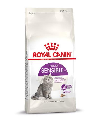 ROYAL CANIN SENSIBLE Trockenfutter für sensible Katzen10 kg + 2 kg gratis