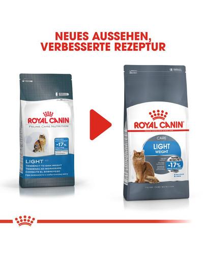 ROYAL CANIN Light Weight Care Trockenfutter für übergewichtige Katzen 400 g