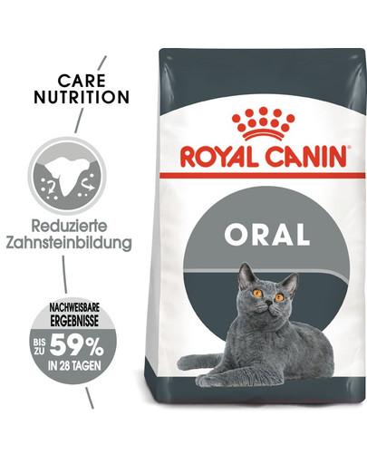 ROYAL CANIN Oral Care Katzenfutter trocken für gesunde Zähne 8 kg