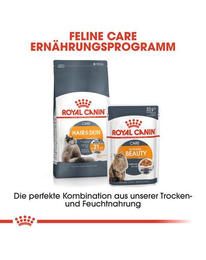ROYAL CANIN Hair & Skin Care Katzenfutter trocken für gesundes Fell 4 kg