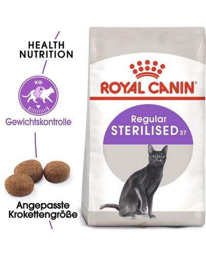 ROYAL CANIN STERILISED Trockenfutter für kastrierte Katzen 2 kg