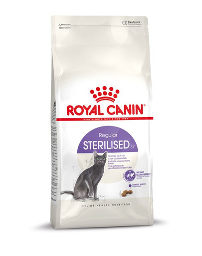 ROYAL CANIN Sterilised 37 10 kg + 2 kg Gratis