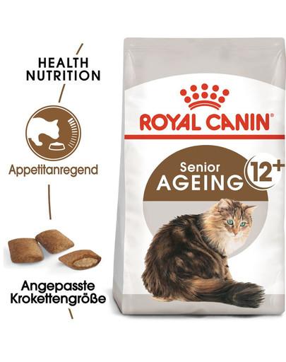 ROYAL CANIN AGEING 12+ Sterilised Trockenfutter für ältere kastrierte Katzen 2 kg