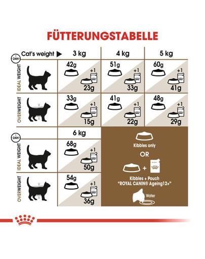 ROYAL CANIN AGEING 12+ Sterilised Trockenfutter für ältere kastrierte Katzen 400 g