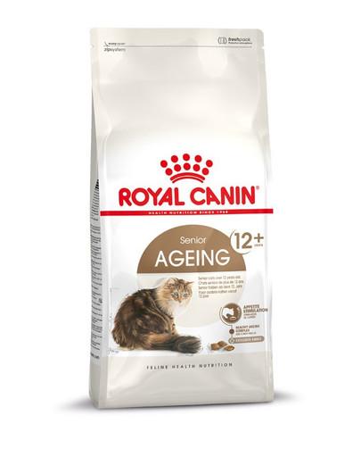 ROYAL CANIN AGEING 12+ Trockenfutter für ältere Katzen 4 kg