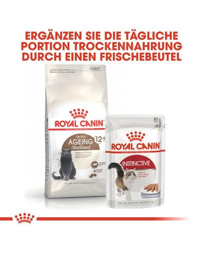 ROYAL CANIN AGEING 12+ Sterilised Trockenfutter für ältere kastrierte Katzen 4 kg